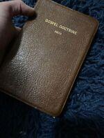 Gospel Doctrine 1970 Leather Bound Book Joseph Fielding Smith LDS Mormon Deseret