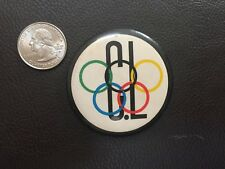 Vintage C.L. Olympic Pin Button