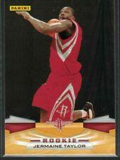 09-10 Panini Jermaine Taylor RC #382 Rockets