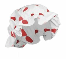Adults Size - Comic Relief Red Polka Dot Red Nose Day Milk Maids Mop Hat