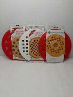 NORPRO Quality For The Cook 3 Pack Of Top Pie Cutters Heart Lattice And...