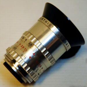"OBJECTIF  SOM BERTHIOT -  CINOR  F 10 m/m. - MOUNT ""C"" - 16 et 9,5 mm -N°US 5841"