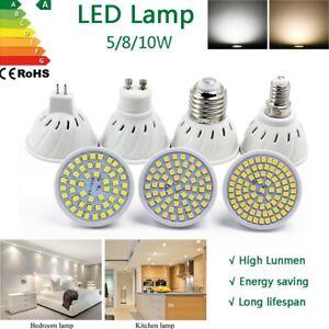 Led Bulb Light Cup floodlight 5W 8W 10W Lamp Gu10 E27 E14 MR16 Spotlight AC 220V
