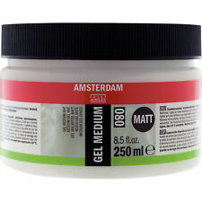 Royal Talens Amsterdam Matt Gel Medium #080 for Acrylic Painting 250ml