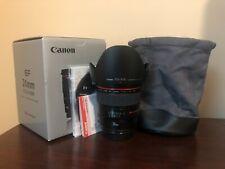Used Canon EF 24mm f/1.4L II USM Lens #850