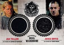 Sons of Anarchy Seasons 1-3 DM3 Wardrobe Costume Card Charlie Hunnam Theo Rossi
