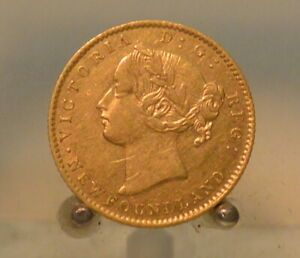 Canada, Newfoundland 1872 Gold $2 Better Date!! Low Mintage!!!