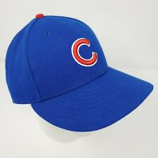Chicago Cubs New Era 5950 Fitted Hat Size 7 5/8 Made in USA