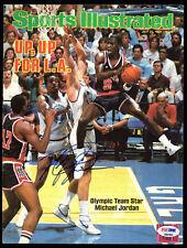 Bulls Michael Jordan Signed Sports Illustrated Magazine Cover  PSA/DNA #D84905