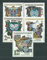 Tschechoslowakei - Post 1974 Yvert 2040/4 MNH Unesco