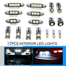 17X For BMW E90 E91 E92 3 Series Canbus White Car LED Lights Interior Kit Lamps