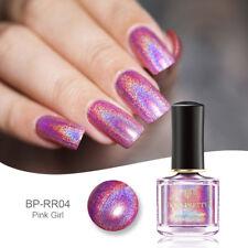Holographic Glitter Nail Polish Laser Nail Art Manicure Varnish BORN PRETTY 6ml