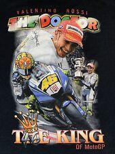 Valentino Rossi Moto GP T-Shirt The Doctor #46 Men's XL Black