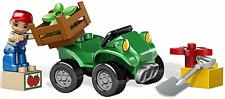 Lego Duplo Quad Bike für Farm Bauernhof agricole Gelände Fahrzeug grün