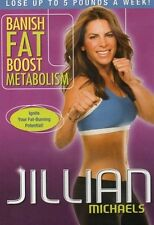 Cardio and Toning DVD - JILLIAN MICHAELS Banish Fat Boost Metabolism!