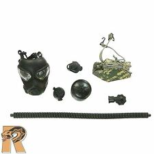 Army Pilot Aircrew - Gasmask Set - 1/6 Scale - Soldier Story Action Figures