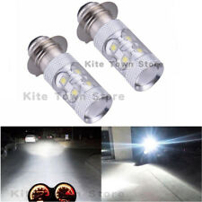2x Headlights For Yamaha Raptor 125 250 660R 700R YFM660R LED Bulbs 6000K White