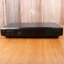 Sony St-Jx661 Stereo Synthesizer Am/Fm Quartz Lock Digital Tuner