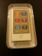 Apple iPod Nano 7th Gen 16GB Gold, PKMX2VC/A (Worldwide Shipping)
