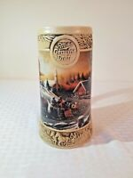Miller beer stein 1992 Terry Redlin The Pleasures of Winter Ducks Unlimited