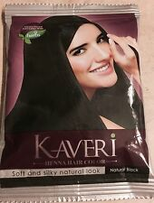 Kaveri Henna Based Hair Color Dye With 9 Herbs Natural Black 10 gms