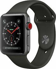 Apple Watch Series 3 42mm A1891 Alu Sport Loop GPS + Cellular Smartwatch schwarz