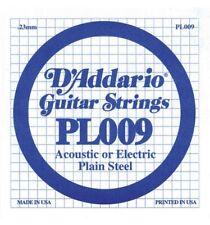 D'addario Pl009 - Corde au Détail Guitare Électrique Acier Plein 009