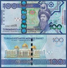 TURKMENISTAN 100 Manat 2014 UNC  P. NEW