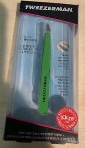 Tweezerman Slant Tweezer - Green Apple Model No. 1230-GAR