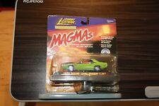 1999 Johnny Lightning 1:43 Magmas  1970 Dodge Challenger Green T/A Die-cast Car