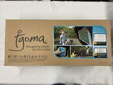 Springfree Tgoma Trampoline Interactive Digital Gaming System- Jumbo Square S155