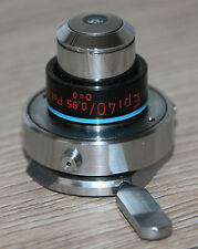 Zeiss Microscope microscope objective EPI 40/0, 85 Pol huile d = 0 avec afriqi. dissertation