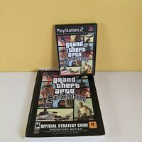 GTA Grand Theft Auto San Andreas & Brady Strategy Guide (Playstation 2, PS2)