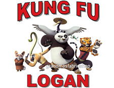 New Kung Fu Panda Personalized Party Favor T Shirt birthday gift Add name