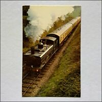 Great Western Railway 6412 In The Cutting Postcard (P435)