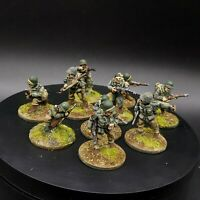Painted 28mm Bolt Action us infantry ×10 Squad #3