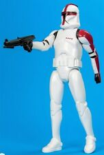 """Star Wars CLONE TROOPER CAPTAIN (RED) 12"""" (new) loose mint target excl clone war"""