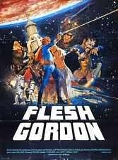 Flesh Gordon Poster 03 Metal Sign A4 12x8 Aluminium
