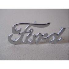 "Chrome Die-cast "" Ford "" Emblem / Official OEM # 91A-16606 Replacement Part"