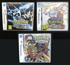 Pokemon Black Version 2, White Version 2 & Platinum UK release *ALL GENUINE MINT