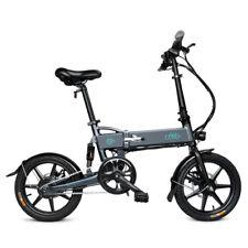 "FIIDO D2 Folding Electric Bike 7.8Ah 16""Wheel 250W EBike Grey Three Riding Modes"