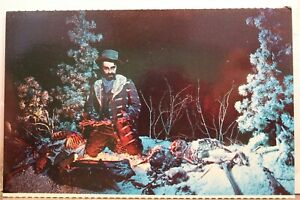 Colorado CO Denver Wax Museum Maneater Postcard Old Vintage Card View Standard