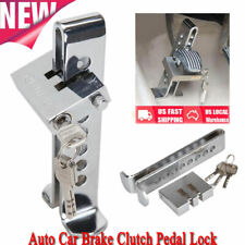 Security Brake Clutch Lock Anti-theft Pedal Lock Car Stainless Steel Security