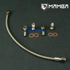 Turbo Oil Feed Line SR20DET S13 S14 S15 w/ Garrett T25 T28 Journal Bearing Type