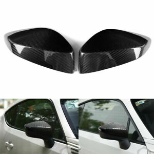 Real Carbon Fiber Rearview Mirror Cover For Subaru BRZ Toyota 86 Scion FR-S