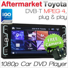 "7"" Toyota CD DVD Player DVB-T Stereo Radio Head Unit Hilux Kluger GPS iGO Primo"