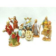 Natività 11 PZ Landi Moranduzzo CM 6,5 - Sacra Famiglia Pastori Presepe