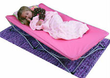 Girls Toddler Kids Pink Portable Bed Children Furniture Free Shipping New