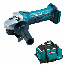 MAKITA 18V LXT BGA452 BGA452Z BGA452RFE ANGLE GRINDER AND 4 PIECE BAG