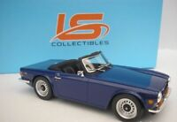 Triumph TR6 1974 - Blue, 1:18 Scale Model Car RESIN